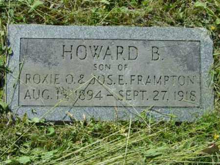 FRAMPTON, HOWARD B. - Talbot County, Maryland | HOWARD B. FRAMPTON - Maryland Gravestone Photos