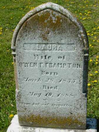 FRAMPTON, LAURA - Talbot County, Maryland | LAURA FRAMPTON - Maryland Gravestone Photos