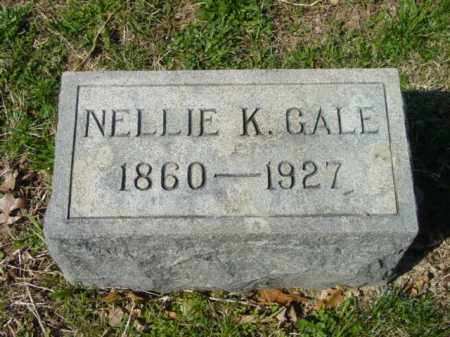 GALE, NELLIE K. - Talbot County, Maryland | NELLIE K. GALE - Maryland Gravestone Photos