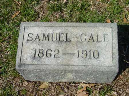 GALE, SAMUEL - Talbot County, Maryland | SAMUEL GALE - Maryland Gravestone Photos