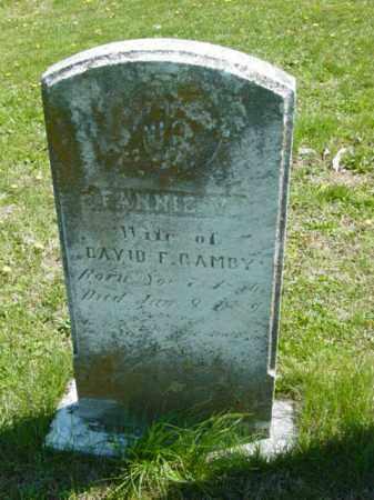 GAMBY, FANNIE V. - Talbot County, Maryland   FANNIE V. GAMBY - Maryland Gravestone Photos
