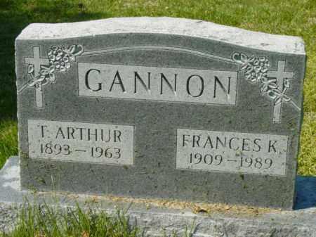GANNON, FRANCES K. - Talbot County, Maryland   FRANCES K. GANNON - Maryland Gravestone Photos