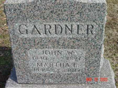 GARDNER, JOHN W. - Talbot County, Maryland | JOHN W. GARDNER - Maryland Gravestone Photos