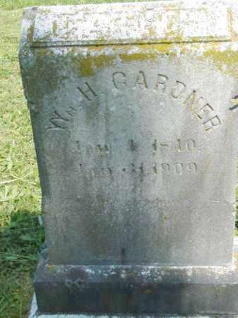 GARDNER, WILLIAM H. - Talbot County, Maryland | WILLIAM H. GARDNER - Maryland Gravestone Photos