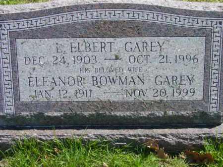 GAREY, L. ELBERT - Talbot County, Maryland   L. ELBERT GAREY - Maryland Gravestone Photos