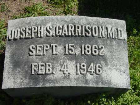 GARRISON, MD, JOSEPH S. - Talbot County, Maryland   JOSEPH S. GARRISON, MD - Maryland Gravestone Photos