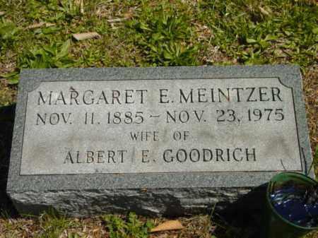 GOODRICH, MARGARET E. - Talbot County, Maryland | MARGARET E. GOODRICH - Maryland Gravestone Photos