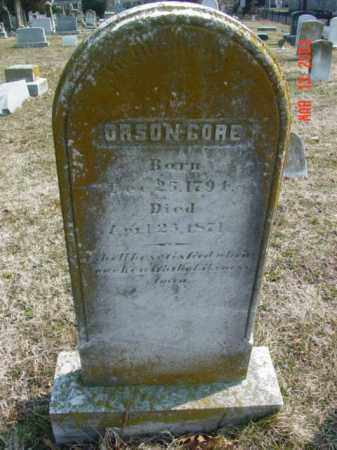 GORE, ORSON - Talbot County, Maryland   ORSON GORE - Maryland Gravestone Photos