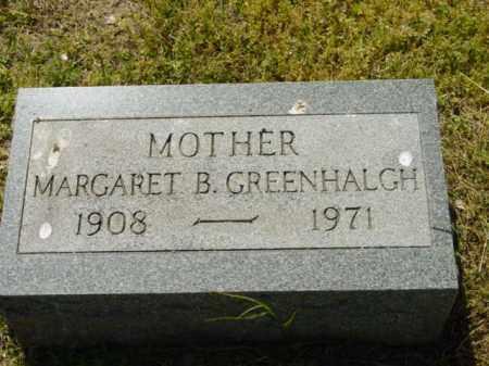 GREENHALGH, MARGARET B. - Talbot County, Maryland   MARGARET B. GREENHALGH - Maryland Gravestone Photos