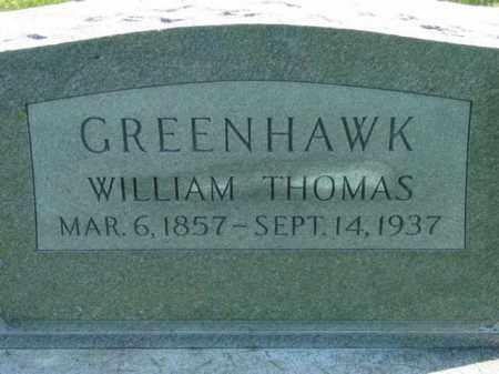 GREENHAWK, WILLIAM THOMAS - Talbot County, Maryland | WILLIAM THOMAS GREENHAWK - Maryland Gravestone Photos