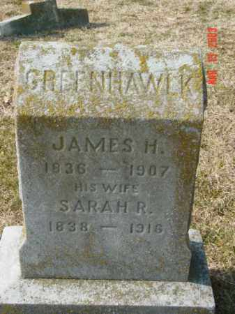 GREENHAWLK, JAMES H. - Talbot County, Maryland   JAMES H. GREENHAWLK - Maryland Gravestone Photos