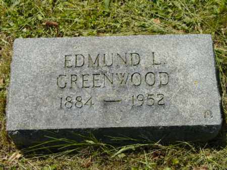 GREENWOOD, EDMUND L. - Talbot County, Maryland | EDMUND L. GREENWOOD - Maryland Gravestone Photos