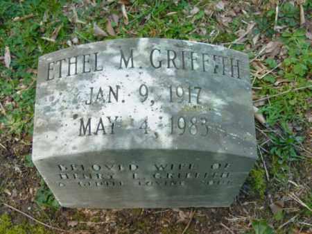 GRIFFITH, ETHEL M. - Talbot County, Maryland   ETHEL M. GRIFFITH - Maryland Gravestone Photos