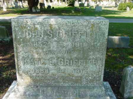 GRIFFITH, JOHN S. - Talbot County, Maryland | JOHN S. GRIFFITH - Maryland Gravestone Photos