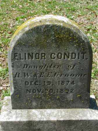 GROOME, ELINOR CONDIT - Talbot County, Maryland | ELINOR CONDIT GROOME - Maryland Gravestone Photos