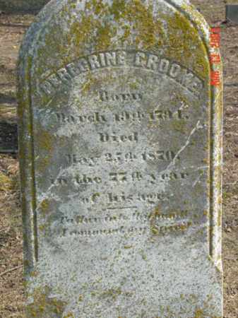 GROOME, PEREGRINE - Talbot County, Maryland | PEREGRINE GROOME - Maryland Gravestone Photos