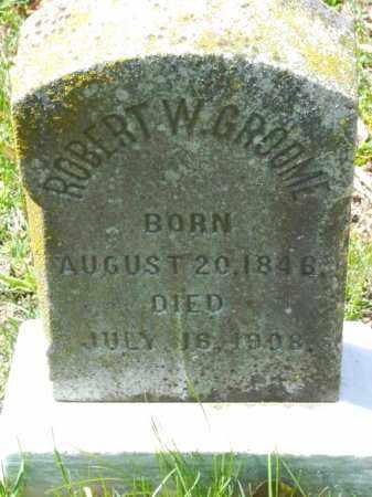 GROOME, ROBERT W. - Talbot County, Maryland   ROBERT W. GROOME - Maryland Gravestone Photos