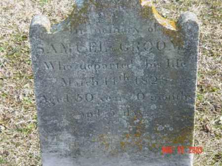 GROOME, SAMUEL - Talbot County, Maryland   SAMUEL GROOME - Maryland Gravestone Photos