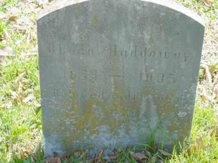HADDAWAY, RHODA - Talbot County, Maryland | RHODA HADDAWAY - Maryland Gravestone Photos