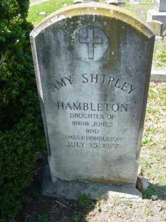 HAMBLETON, AMY SHIPLEY - Talbot County, Maryland | AMY SHIPLEY HAMBLETON - Maryland Gravestone Photos