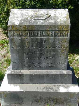 HAMBLETON, H. WARFIELD - Talbot County, Maryland | H. WARFIELD HAMBLETON - Maryland Gravestone Photos