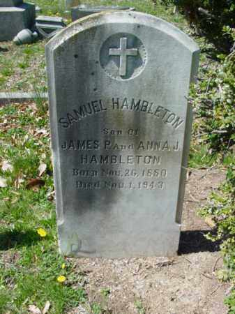 HAMBLETON, SAMUEL - Talbot County, Maryland | SAMUEL HAMBLETON - Maryland Gravestone Photos