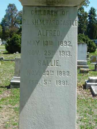 HARDCASTLE, SALLIE - Talbot County, Maryland | SALLIE HARDCASTLE - Maryland Gravestone Photos