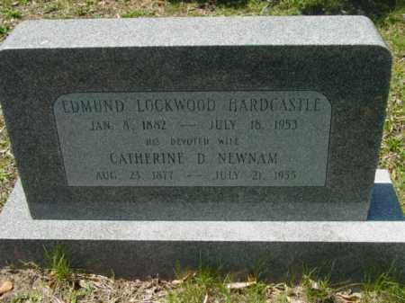HARDCASTLE, EDMUND LOCKWOOD - Talbot County, Maryland   EDMUND LOCKWOOD HARDCASTLE - Maryland Gravestone Photos