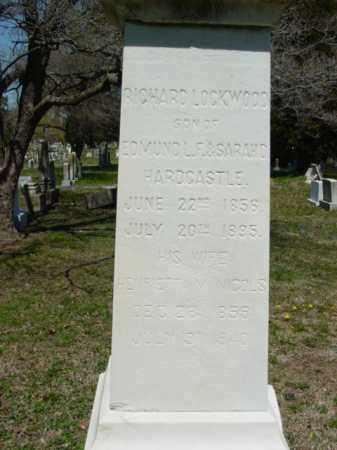 HARDCASTLE, HENRIETTA V. - Talbot County, Maryland | HENRIETTA V. HARDCASTLE - Maryland Gravestone Photos
