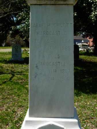 HARDCASTLE, SARAH - Talbot County, Maryland | SARAH HARDCASTLE - Maryland Gravestone Photos