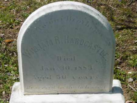 HARDCASTLE, WILLIAM R. - Talbot County, Maryland | WILLIAM R. HARDCASTLE - Maryland Gravestone Photos