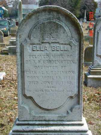 HARDENSTEIN, ELLA BELL - Talbot County, Maryland | ELLA BELL HARDENSTEIN - Maryland Gravestone Photos