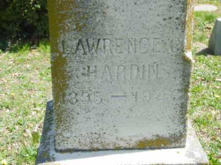HARDIN, LAWRENCE C. - Talbot County, Maryland | LAWRENCE C. HARDIN - Maryland Gravestone Photos