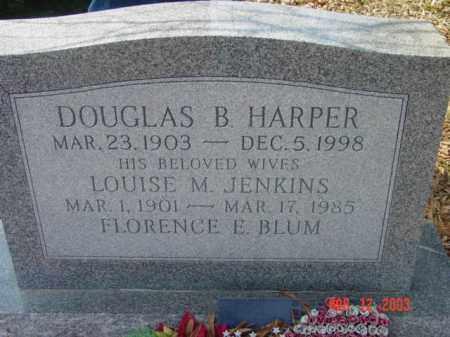 HARPER, FLORENCE E. BLUM - Talbot County, Maryland | FLORENCE E. BLUM HARPER - Maryland Gravestone Photos