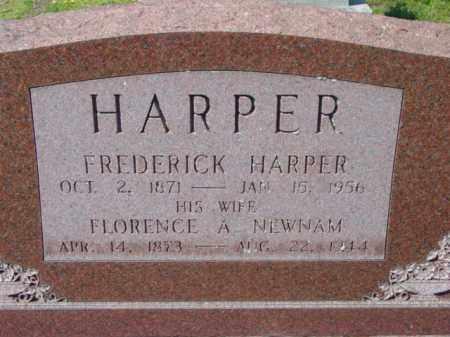 HARPER, FREDERICK - Talbot County, Maryland | FREDERICK HARPER - Maryland Gravestone Photos