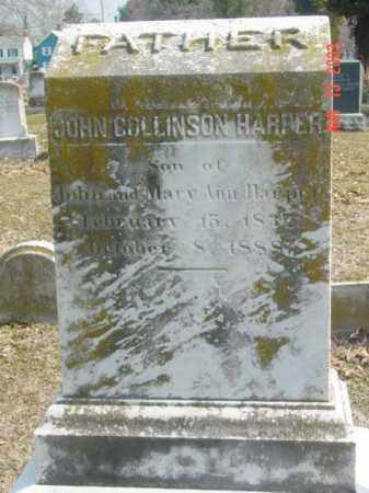 HARPER, JOHN COLLINSON - Talbot County, Maryland | JOHN COLLINSON HARPER - Maryland Gravestone Photos