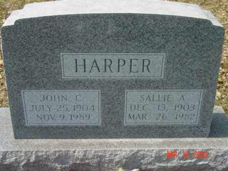 HARPER, SALLIE A. - Talbot County, Maryland | SALLIE A. HARPER - Maryland Gravestone Photos
