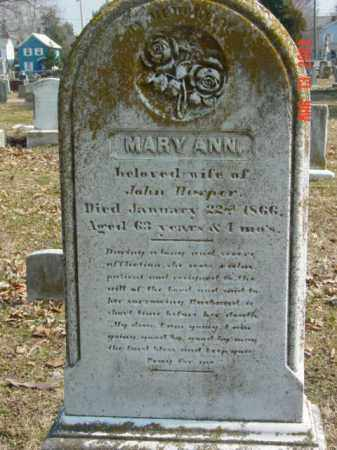 HARPER, MARY ANN - Talbot County, Maryland | MARY ANN HARPER - Maryland Gravestone Photos