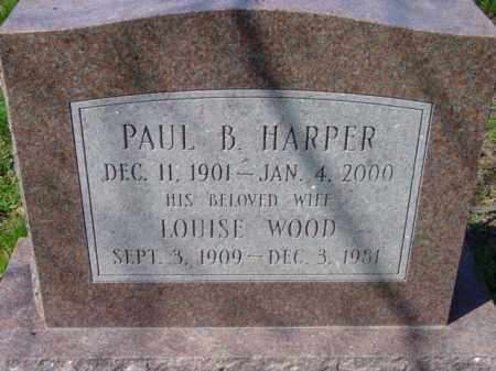 HARPER, LOUISE - Talbot County, Maryland | LOUISE HARPER - Maryland Gravestone Photos