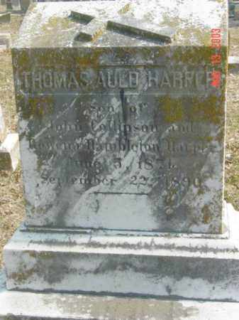 HARPER, THOMAS AULD - Talbot County, Maryland | THOMAS AULD HARPER - Maryland Gravestone Photos