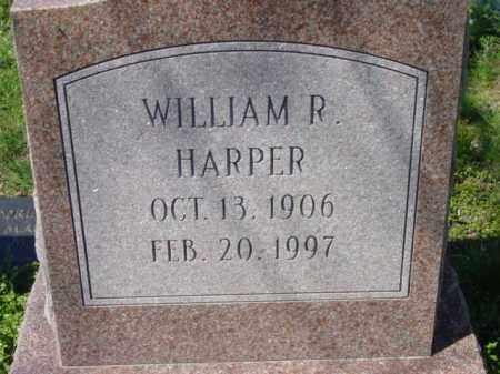 HARPER, WILLIAM R. - Talbot County, Maryland | WILLIAM R. HARPER - Maryland Gravestone Photos