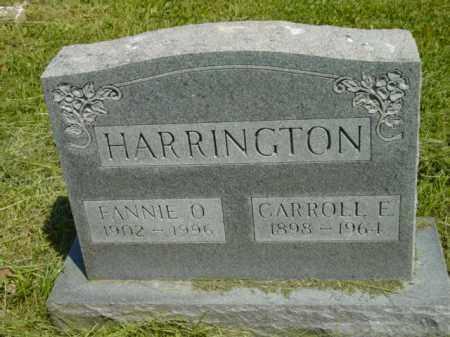 HARRINGTON, FANNIE O. - Talbot County, Maryland   FANNIE O. HARRINGTON - Maryland Gravestone Photos