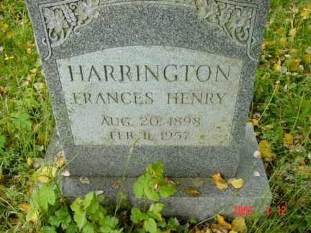 HARRINGTON, FRANCES - Talbot County, Maryland | FRANCES HARRINGTON - Maryland Gravestone Photos