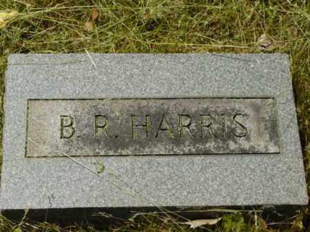 HARRIS, B.R. - Talbot County, Maryland   B.R. HARRIS - Maryland Gravestone Photos