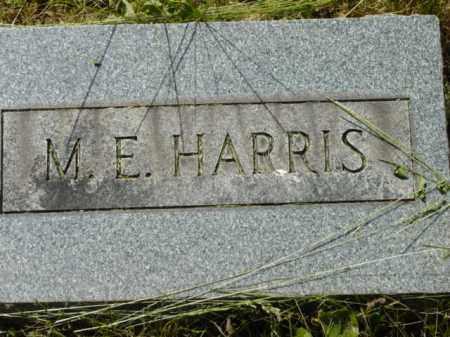 HARRIS, M.E. - Talbot County, Maryland | M.E. HARRIS - Maryland Gravestone Photos