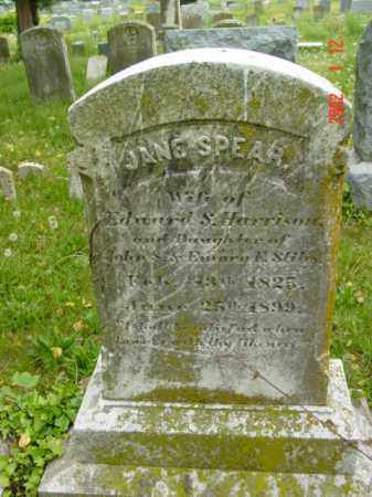 HARRISON, JANE SPEAR - Talbot County, Maryland   JANE SPEAR HARRISON - Maryland Gravestone Photos