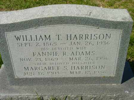 HARRISON, MARGARET S. - Talbot County, Maryland | MARGARET S. HARRISON - Maryland Gravestone Photos