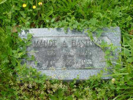 HASTINGS, MAUDE A. - Talbot County, Maryland | MAUDE A. HASTINGS - Maryland Gravestone Photos