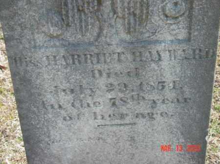 HAYWARD, HARRIETT - Talbot County, Maryland | HARRIETT HAYWARD - Maryland Gravestone Photos