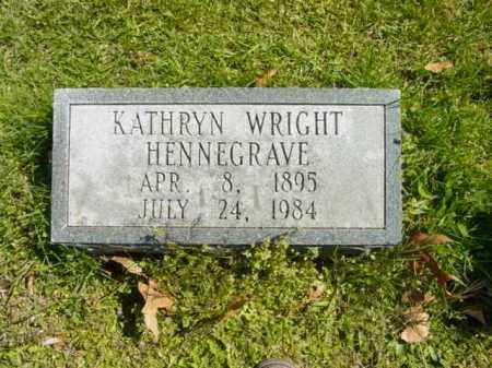 HENNEGRAVE, KATHRYN - Talbot County, Maryland   KATHRYN HENNEGRAVE - Maryland Gravestone Photos